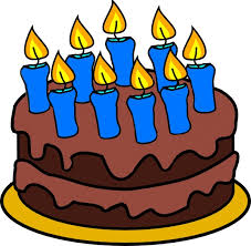 Cake clipart month 3