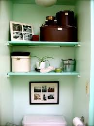 Shelves Over The Toilet 9 Bathroom Storage Ideas You Havent Thought Of