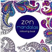 HengSong Secret Garden Zen Mandala And Coloring Book English 12pages