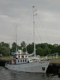 range trawlers for sale range steel cruise motorsailer trawler for sale buy trawler