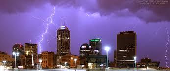 6 19 2014 Lightning Storm Indianapolis