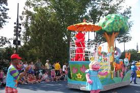 Sesame Place Halloween Parade by Elmo In The Parade Picture Of Sesame Place Langhorne Tripadvisor
