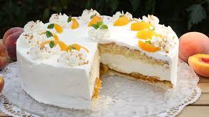 rezept pfirsich maracuja torte cremig fruchtige torte mit lockerem biskuit