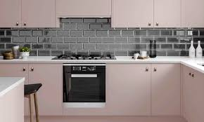 Kitchen Unit Ideas Pink Kitchen Ideas From Cabinets In Soft Blush And Powder