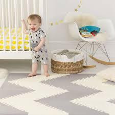 Foam Tile Flooring Uk by Skip Hop Playspot Foam Floor Tiles Grey Cream