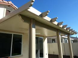 Patio Covers Las Vegas Nevada by Aluminum Wood Patio Cover