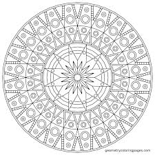 Free Mandala Coloring Pages To Print For