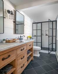 75 badezimmer mit schieferboden ideen bilder april 2021