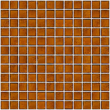 glass tile 1 inch bottle medium brown glass tile