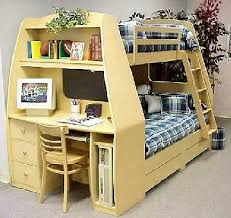 Lovable Full Size Bunk Bed With Desk Catalog Twin Over Full Bunk
