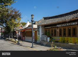 100 South Korean Houses JEONJU SOUTH KOREA Image Photo Free Trial Bigstock