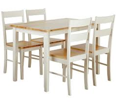 Buy Argos Home Chicago Solid Wood Table 4 Chairs