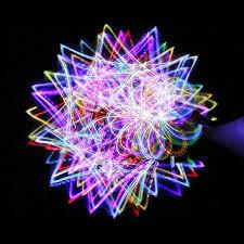 Amazon 4 light Rainbow LED Rave Orbital Orbit Light Show