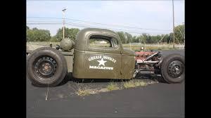 100 46 Chevy Truck Wild Rat Rod Truck Grease Monkey Magazine TV Episode 2