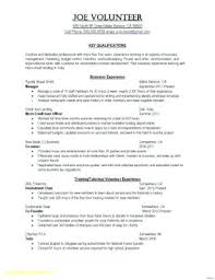 Resume Template Limited Work Experience