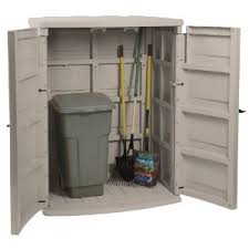 rubbermaid large vertical storage shed review