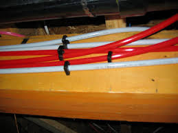 Installing PEX pipe is quite easy The key is the use of PEX pipe clips