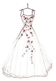 Drawn Fashion Gown 2