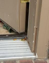 Simple Stylish Exterior Door Threshold Inswing Outswing Doors