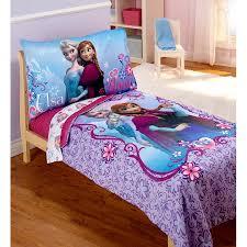 Disney Frozen Elsa & Anna 4 Piece Toddler Bedding Set Walmart