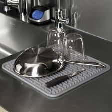 oxo silicone sink mat oxo grips square silicone drying mat reviews wayfair