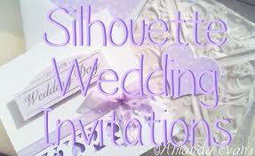 Silhouette Wedding Invitations