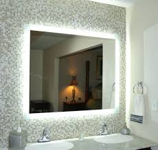 lights lighted makeup mirror wall mounted hardwired mirrors