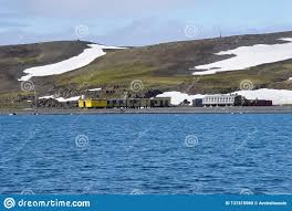 100 Antarctica House Scientific Station In Stock Photo Image Of Background
