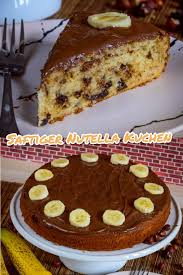saftiger nutella kuchen blitzrezept nutella kuchen
