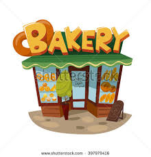 Vintage style bakery icon Bakery shop building Architecture icon