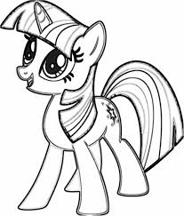 Twilight Sparkle C Level My Little Pony Princess Coloring Pages