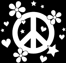 Colorable Peace Sign Design Free More Coloring Pages