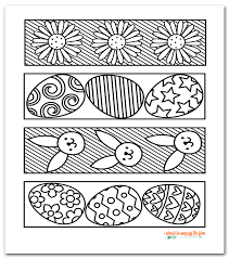 I Should Be Mopping The Floor Free Printable Easter Coloring Bookmarks Adult Pages