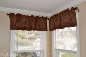 Primitive Curtains For Living Room by Primitive Star Quilt Shop Burgundy Applique Star Valance Review