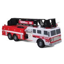 100 Tonka Mighty Motorized Fire Truck TITANS Engine