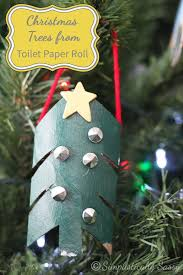 Toilet Paper Roll Crafts Christmas Tree