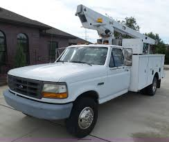 100 1995 Ford Truck F450 Super Duty Bucket Truck Item BY9557 SOLD