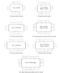 Kitchen Table Dimensions Fresh Of Dining Room Sizes Standard Size