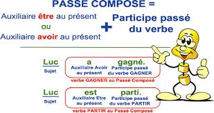 si er conjugaison conjugaison leçon indicatif passé composé niveau 1