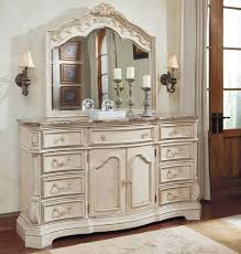 White Mirrored Dresser And Bedroom Furniture — New Home Design