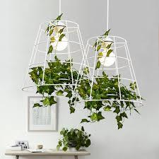 grüne pflanze pendelleuchte nordic hängependelleuchten leuchte esszimmer restaurant home innenbeleuchtung weiß droplight 30 cm