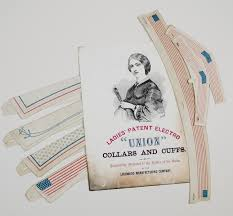 Civil War era paper collars