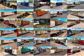 100 Tow Truck Simulator Trailers And Cargo Pack V232 135x ATS Mods American