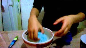 fabriquer une pâte slime
