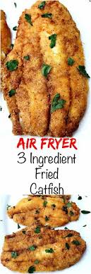 Air Fryer 3 Ingredient Fried Catfish Is A Quick And Easy Low Calorie