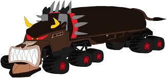 Giant 18 Wheeler Monster Bulldog Truck By Wilsonasmara On DeviantArt