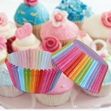 2018 Hot Pvc Bucket Rainbow Cake Paper Cup Baking Muffin Chocolate Glutinous Rice Tray Packaging About Silicone Bakeware Recipes