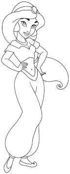 New Princess Jasmine Coloring Pages 18 On Print With