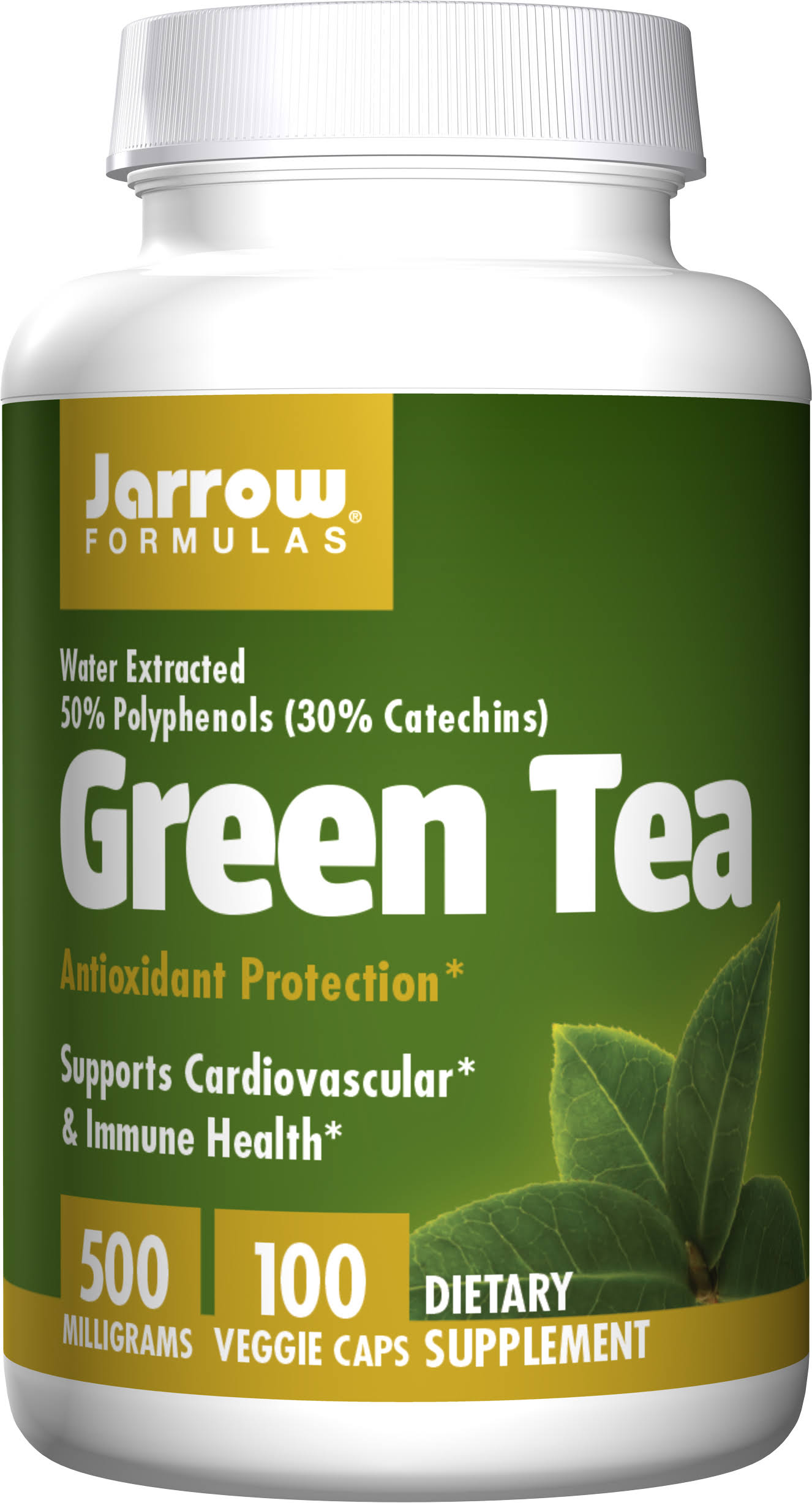 Jarrow Formulas Green Tea - 500mg, 100 Capsules
