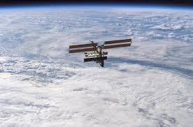 The International Space Station As Seen From STS112 October 2002